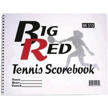 Big Red 5130 Tennis Scorebook