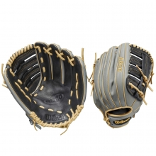 "Wilson 12.5"" A500 Youth All Positions Baseball Glove, WBW100159125"