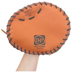 Two Hands Trainer Leather Training Glove, Right Hand Throw