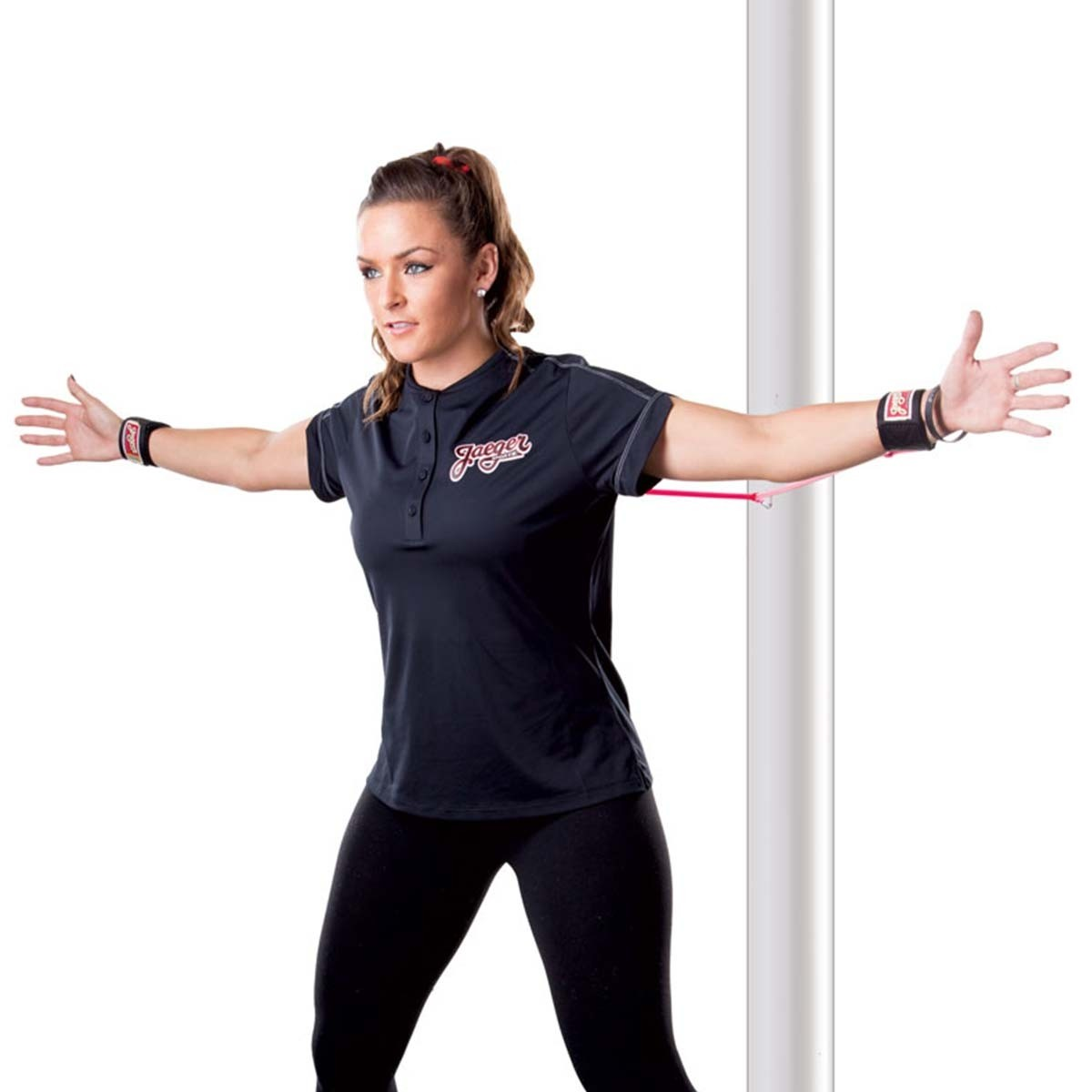 Red Jaeger Sports Youth J-Bands Jr Exercise Arm Band