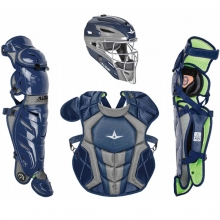 All Star Age 12-16 Youth System7 Axis Pro NOCSAE Catcher's Kit