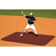 "Proper Pitch 8""Hx11'6""Lx8'3""W Classic Game Mound, Clay"