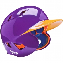 Custom Schutt AiR-5.6 BB FITTED Baseball Batting Helmet, 2-COLOR PAINTED