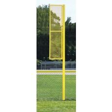 Jaypro 12'H Baseball Foul Poles, BBSBFP-12 (pair)