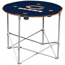 Chicago Bears NFL Pop-Up/Folding Round Table
