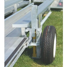 Transport Kit for a 5 Row Transportable Bleacher
