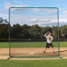 ProMounds Deluxe 10' x 10' Baseball/Softball Protective Screen Frame & Net
