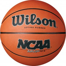 "Wilson NCAA MVP Junior 27.5"" Rubber Basketball"