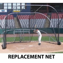 Jaypro REPLACEMENT NET for Big League Bomber Portable Batting Cage (BBLS-12)