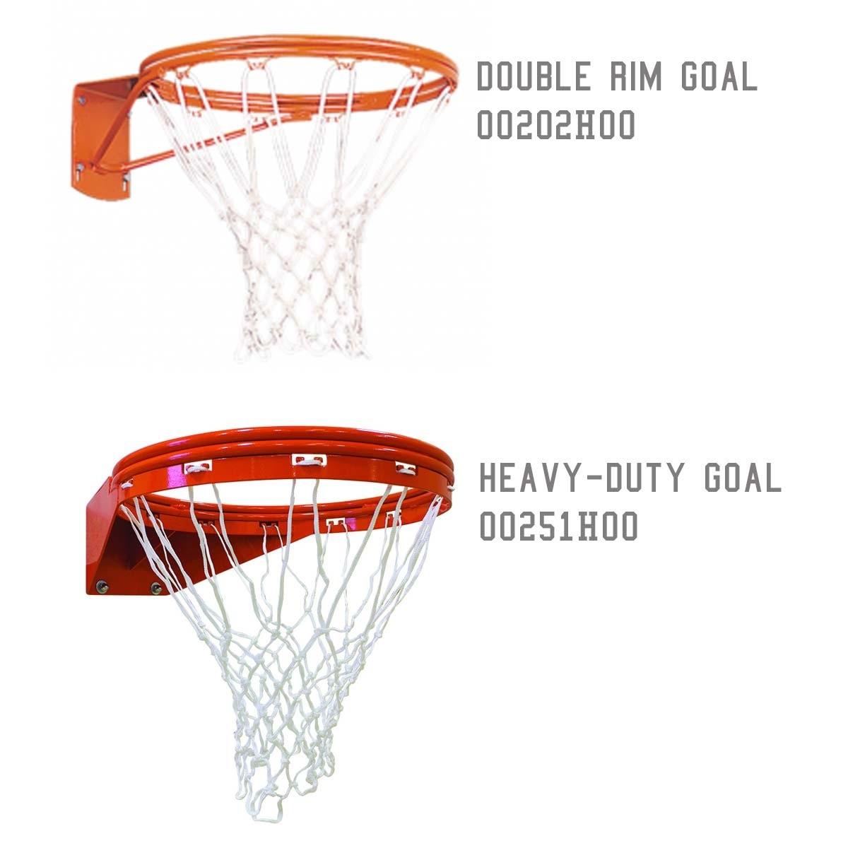 Porter 6 Extension 5 9 16 Diam Fan Basketball Hoop