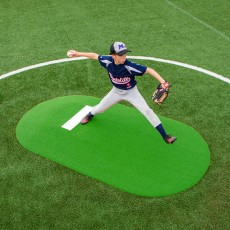 "Portolite 6""Hx8'11""Lx5'W Game Mound, Green"