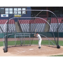 Jaypro Big League Bomber Portable Baseball Batting Cage, BBLS-12