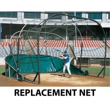 Jaypro REPLACEMENT NET for Grand Slam Portable Backstop (BBGS-18)