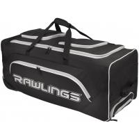 "Rawlings YADIWCB Wheeled Catcher's Equipment Bag 37"" x 14"" x 14"""