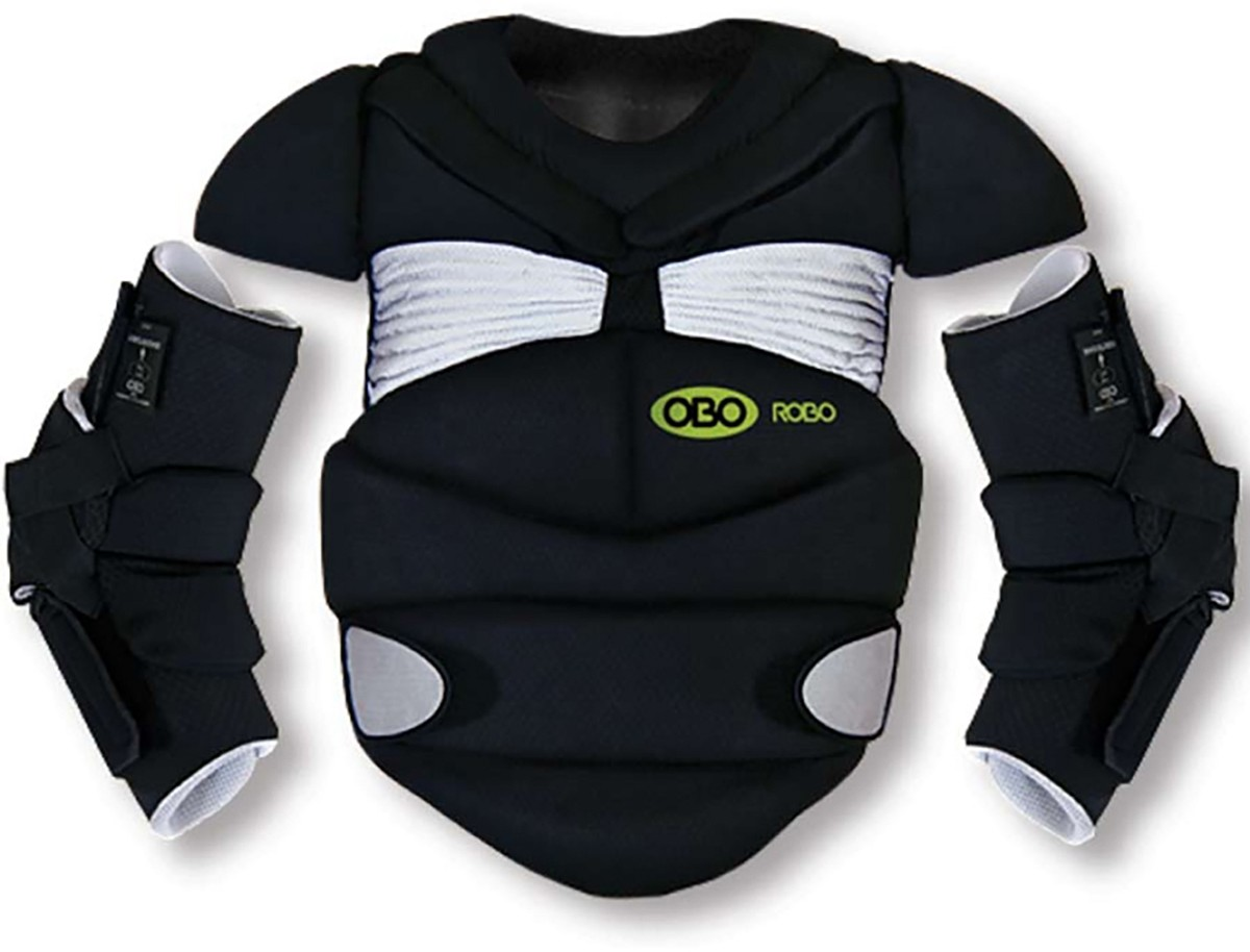 Obo Robo Field Hockey Goalie Chest Protector Arm Guards A43 326