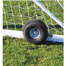 Jaypro Set of 4 Nova Soccer Goal Wheel Kit (fits 2 goals) NSGWK