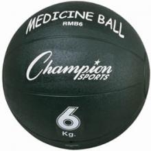 Champion 6 Kilo / 13 lb. Rubber Medicine Ball, RMB6