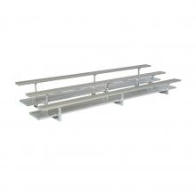 3 Row, 15' PREFERRED Aluminum Bleacher