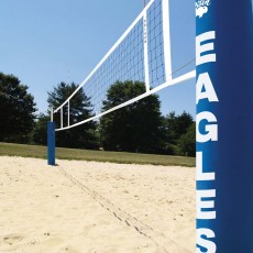 Bison Centerline Double Court Sand Volleyball Systems