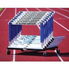 Gill 4630 Flight Track Hurdle Cart, 41""