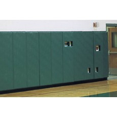 """Safety Wall Panel Pads w/ 1"""" Top & Bottom Lip, 2' x 6'"""