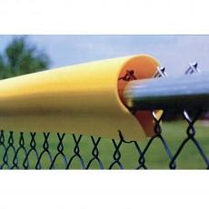 "12/pk 7'L Premium, .10"" Baseball/Softball Fence Guard Protectors"