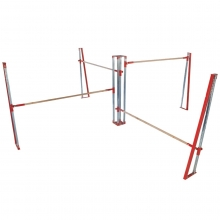 Spieth Polaris Quad Bar Gymnastics Training System
