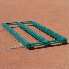 White Line 5' x 3' Big League Infield Nail Drag