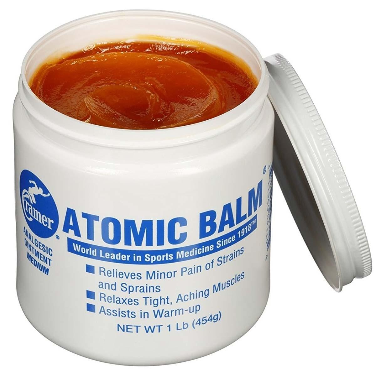 Cramer Atomic Balm Analgesic Ointment 1lb Jar A73 100