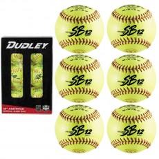 "Dudley 6/pk 4D311YR6 12"" ASA/NFHS Cork Fastpitch softball"