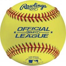 Rawlings ROLB1Y Optic Yellow Baseballs, dz