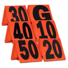 Champro Set of 11 Weighted Football Yard Marker Set