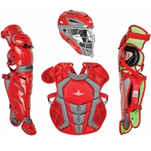 All Star Age 9-12 Youth System7 Axis Pro NOCSAE Catcher's Kit