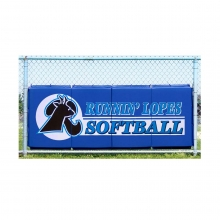 Cover Sports 3'H x 8'L Baseball/Softball Backstop Padding w/Graphics
