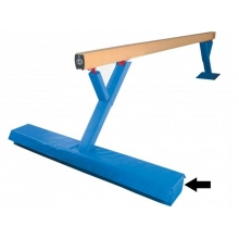 "Spieth 7.5'x11""x12cm Single Cutout Balance Beam Base Pads, pair"