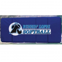 Cover Sports 4'H x 10'L Baseball/Softball Backstop Padding w/Graphics