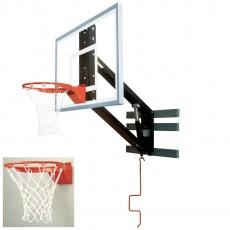 Bison Zip Crank Adjustable Basketball Wall Shooting Station
