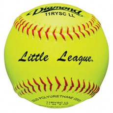 "Diamond 11RYSCLL 47/375 Little League Synthetic Fastpitch Softballs, 11"", dz"