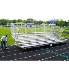 Transportable PREFERRED Bleacher, 5-Row, 21'