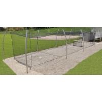Jaypro PROTF-70 Professional Outdoor Batting Cage Tunnel Frame, 70'L