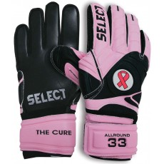 Select 33 Cure Pink Soccer Goalkeeper Gloves, 60-033