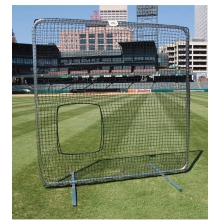 Softball Pitcher's Protective Screen, 7'H x 7'W