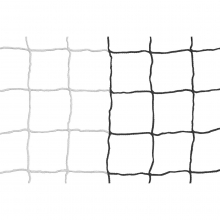 Kwik Goal 8'x24'x3'x8.5', Evolution Black/White Striped 3mm Soccer Net