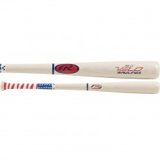 2019 Rawlings Velo -7.5 Youth Ash Wood Baseball Bat, Y62AV