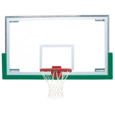 "Bison 42'' x 72""  Unbreakable Short Glass Basketball Backboard, BA42XL"