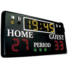 """Sportable Scoreboard 2207 Multi-Sport Wall Mount Scoreboard, 48""""Wx24""""H"""