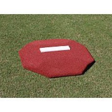 "Proper Pitch 3'6""Wx3'6""Lx4""H Portable Youth Baseball Training Mound, Clay"