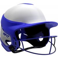 Rip-It VISN Fastpitch Softball Batting Helmet w/ Mask, MED/LARGE