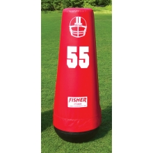 "Fisher 60""H Varsity Football Pop-Up Dummy, 10155"
