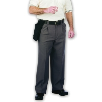 Dalco D9600 Pleat Front Umpire Pants, Charcoal
